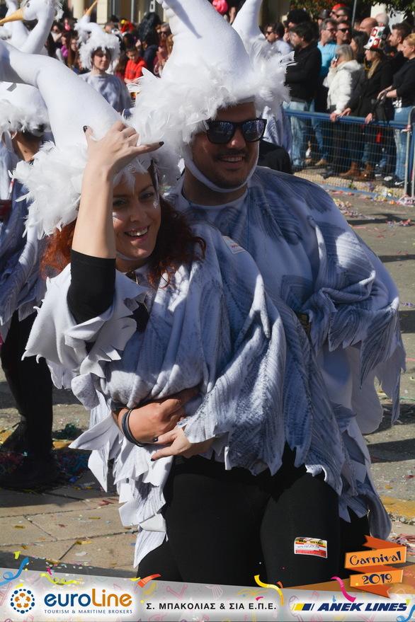 Οι κομψοί ερωδιοί του Πατρινού Καρναβαλιού (φωτο)