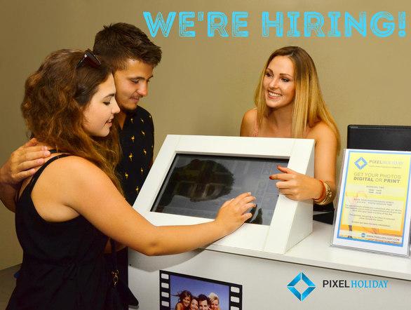 Η εταιρεία Pixel Holiday ενδιαφέρεται να προσλάβειφωτογράφους και πωλητές