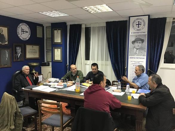 Ο Χρήστος Πατούχας στην συνεδρίαση του ΝΟΠ (φωτο)