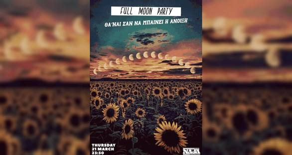 Full Moon Party at Μore steps Naja