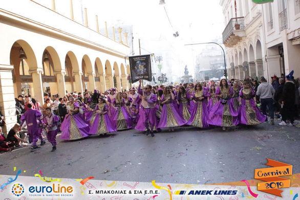 Οι Βενετσιάνοι έκαναν το σουλάτσο τους στο Πατρινό Καρναβάλι (φωτο)