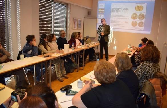 Πάτρα: Πραγματοποιήθηκε το βιωματικό εργαστήρι γνωριμίας με την ιστορία και τον πολιτισμό των Ελληνικών βασιλείων της Κεντρικής Ασίας (φωτο)