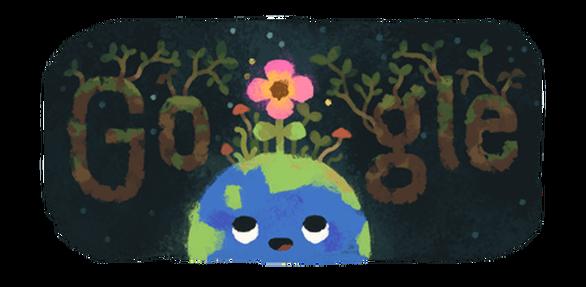 Στην αρχή της Άνοιξης,είναι αφιερωμένο το σημερινό doodle τηςGoogle