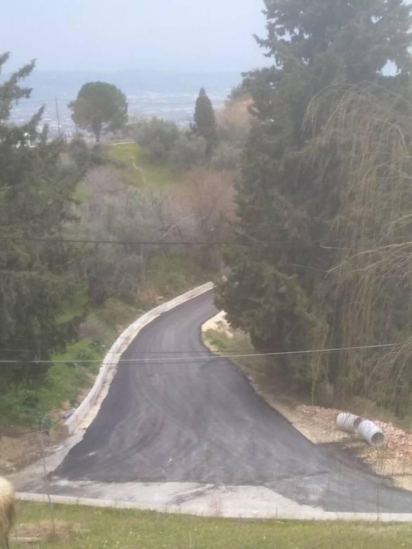 Πάτρα: Ανακατασκευάστηκε o δρόμος που συνδέει τον οικισμό του Ρωμανού με το Λυκοχωρό