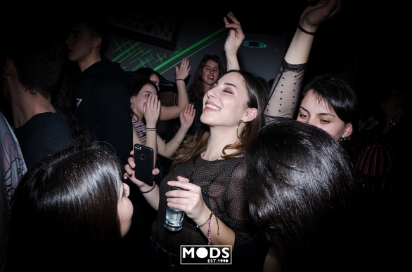 Trash Party at Mods Club 20-03-19