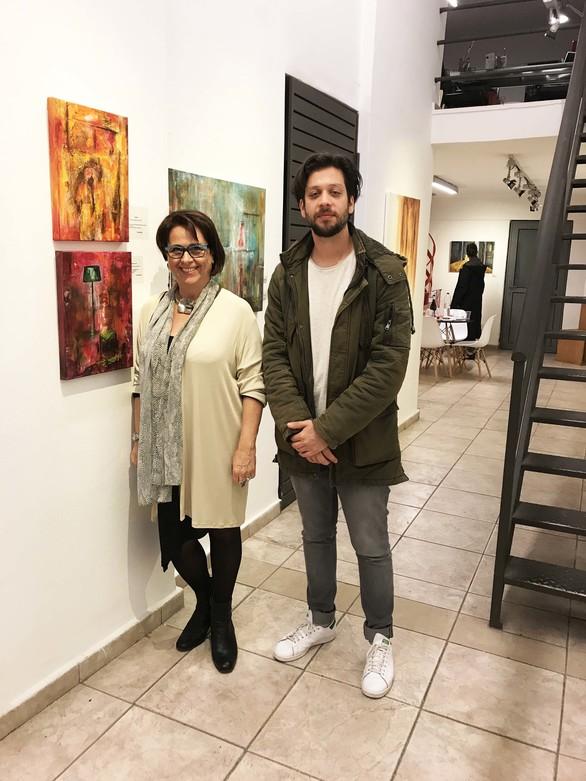 """Πάτρα: Με επιτυχία τα εγκαίνια της έκθεσης """"Α... όπως η αγάπη"""" στην Γκαλερί Cube (φωτο)"""