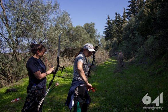 Achaia Clauss - Αθλητές της τοξοβολίας έριξαν τα... βέλη τους, σε έναν αγώνα μέσα στη φύση! (φωτο)