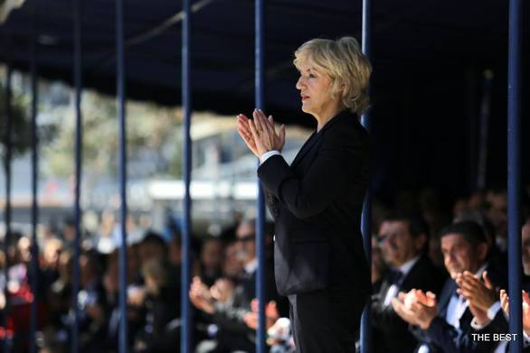 Πάτρα: Η Σία Αναγνωστοπούλου για την 25η Μαρτίου (φωτο)