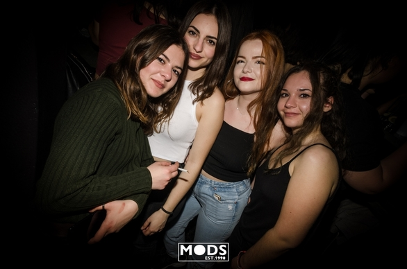Trash Party at Mods Club 27-03-19