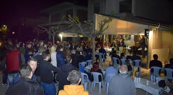 Πάτρα: O Γρ. Αλεξόπουλος σε εκδήλωση στην περιοχή Μακρυγιάννη (φωτο)