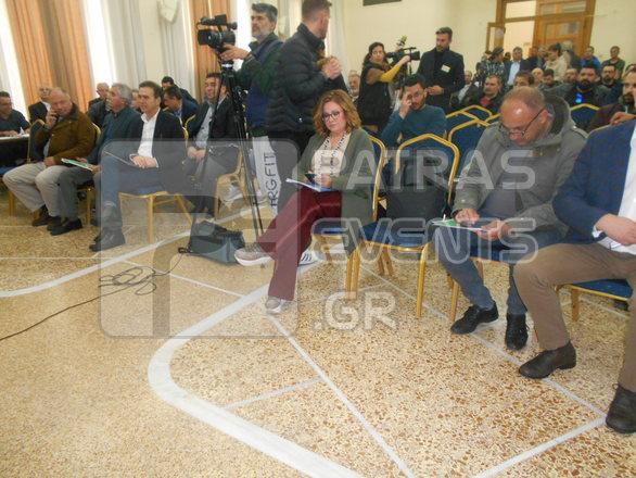 Η Μαρία Σπυράκη στην Πάτρα και στην πανελλήνια σύσκεψη εστίασης του ΣΚΕΑΝΑ (pics)