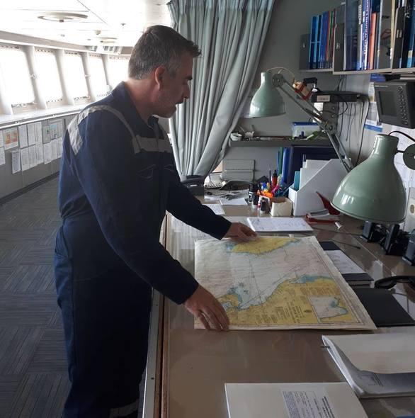 Οι σπουδαστές του ΔΙΕΚ Πάτρας στο πλοίο Αστερίων ΙΙ της ΑΝΕΚ LINES (φωτο)