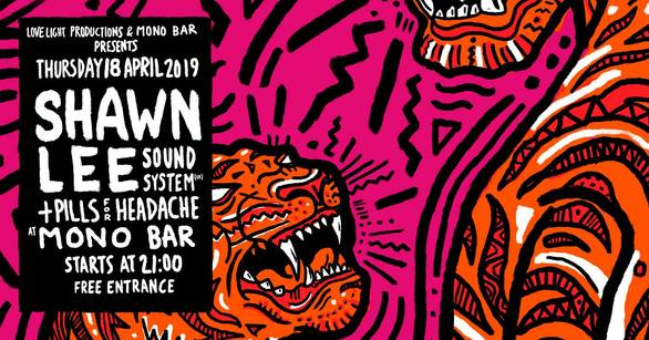 Shawn Lee Sound System live at Mono Bar
