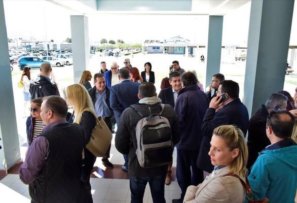 Στο Patras IQ ο Γρηγόρης Αλεξόπουλος και οι υποψήφιοι σύμβουλοι της παράταξης του