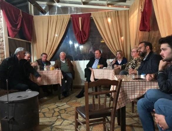 Ο Νεκτάριος Φαρμάκης επισκέφθηκε τα Καλάβρυτα