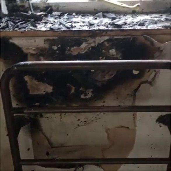 Παρανάλωμα πυρός το διαμέρισμα της Τζόαν Κόλινς στο Λονδίνο (φωτο)