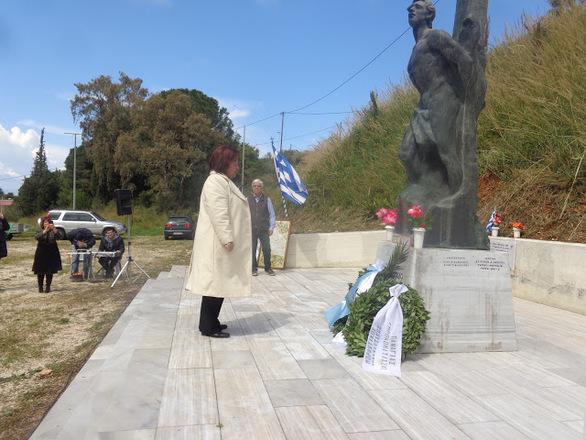 Πάτρα: Τιμήθηκε η μνήμη των 125 εκτελεσμένων στο Γηροκομειό (φωτο)