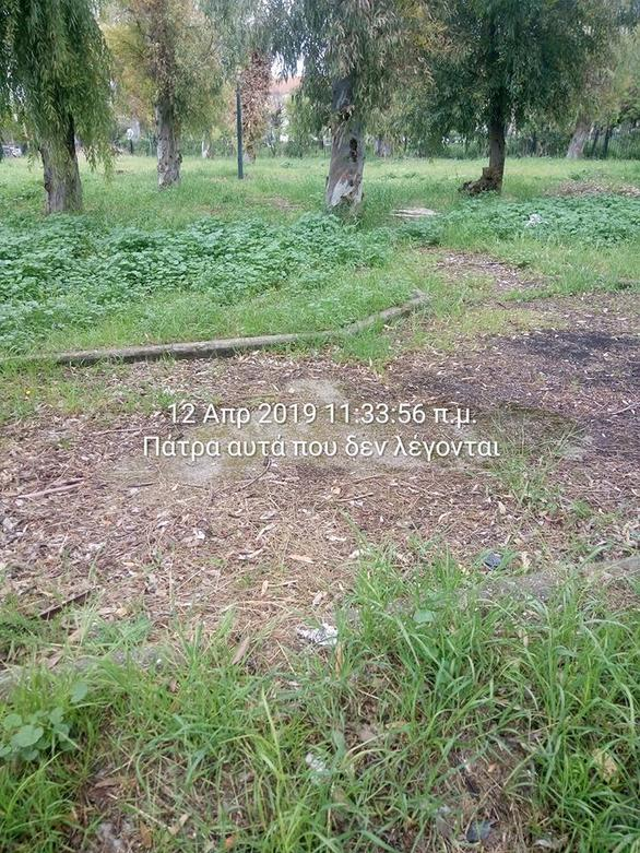 """Πάρκο Αγίου Ανδρέα στην Πάτρα: Ένας μικρός """"παράδεισος"""" κλειδωμένος (pics)"""