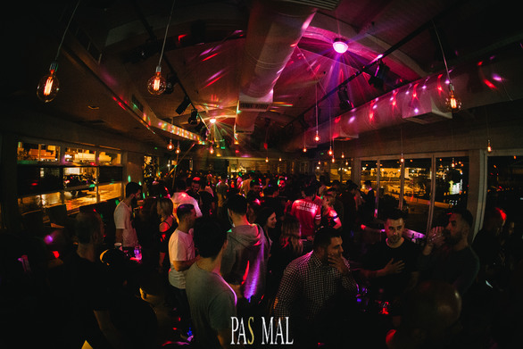 Nikos Diamantopoulos & Andy Es at Pas Mal 14-04-19