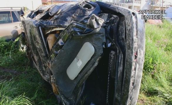 20χρονη σκοτώθηκε σε τροχαίο - Σοκάρουν οι εικόνες