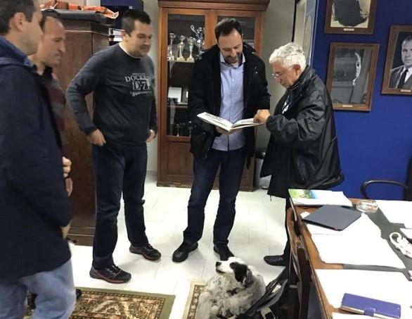 Μέλη του Διοικητικού Συμβουλίου του ΝΟΠ συναντήθηκαν με τον Θεόδωρο Ντρίνια
