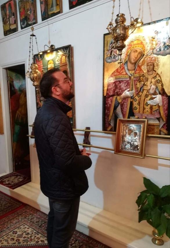 Ο Νεκτάριος Φαρμάκης στην Αιγιάλεια (φωτο)