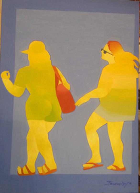 """""""Ο χώρος, ο χρόνος, το πεδίο και το χρώμα"""" στο Αρχαιολογικό Μουσείο Πύργου"""
