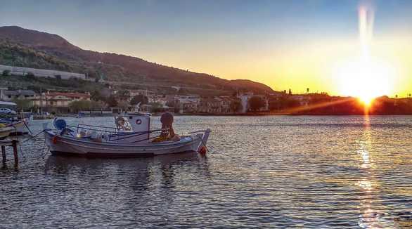 Το ωραιότερο δειλινό στην Αχαΐα είναι στο πιο βόρειο άκρο της Πελοποννήσου