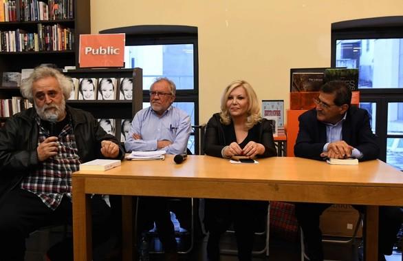 Πάτρα: Ο Κώστας Πελετίδης έδωσε το παρών στην παρουσίαση της Σεμίνας Διγενή