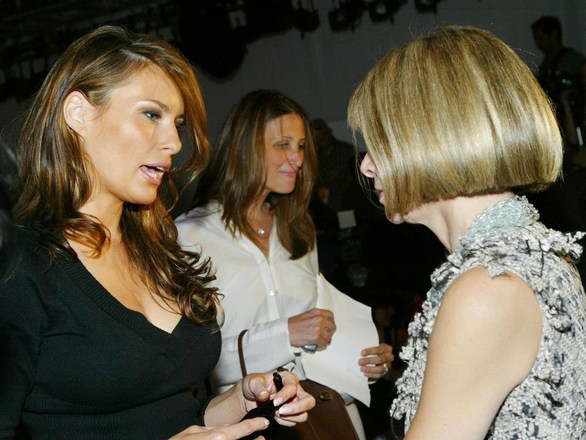 Melania Trump για Anna Wintour: «Είναι ανασφαλής και με περιορισμένη σκέψη»