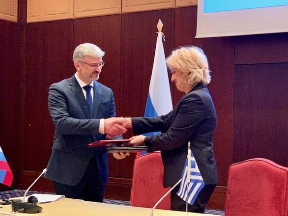 Ολοκληρώθηκαν οι εργασίες της 12ης Μεικτής Διυπουργικής Επιτροπής (ΜΔΕ) Ελλάδας - Ρωσίας