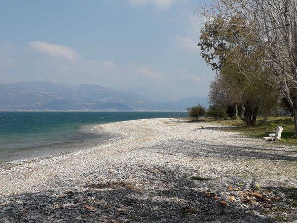 Με τον ανοιξιάτικο βοριά στην παραλία του Ρίου (φωτο)
