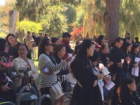 Κύπρος: Διαμαρτυρία και προσευχές από Φιλιππινέζες οικιακές βοηθούς στη Λευκωσία (φωτο)