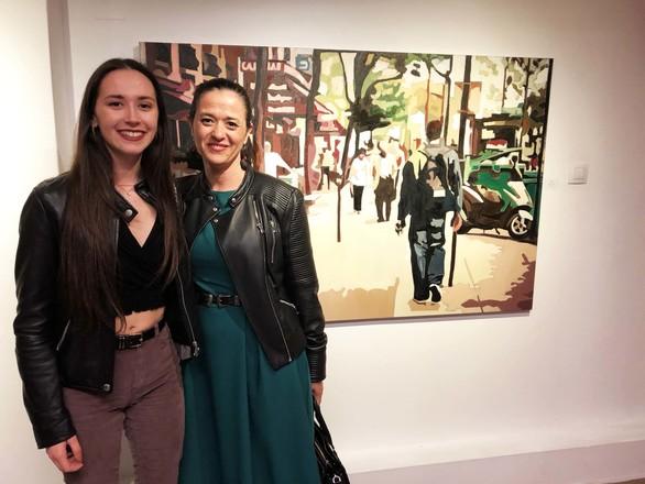 """Με επιτυχία τα εγκαίνια της έκθεσης """"Ρευστότητα"""" στην Γκαλερί Cube (φωτο)"""