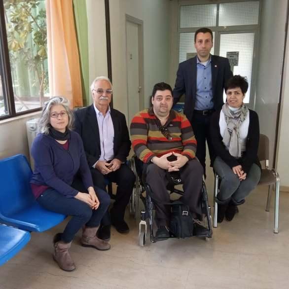 Ο Αντώνης Χαροκόπος στην εθελοντική αιμοδοσία στο Κέντρο Υγείας Ακράτας (φωτο)