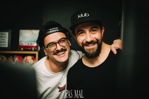 Mr. Panos & Andy Es at Pas Mal 21-04-19