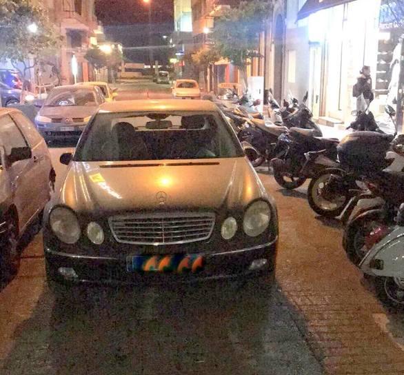 Πάτρα - Καταγγελία: Το προκλητικό παρκάρισμα πρώην βουλευτή! (ΔΕΙΤΕ ΦΩΤΟ)