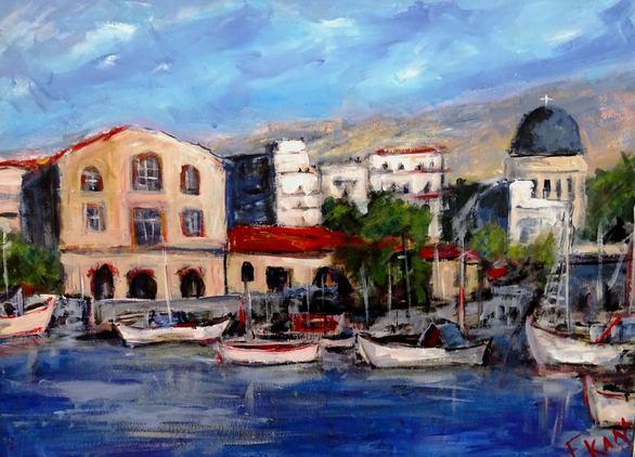 Ξενάγηση στην 11η Εαρινή Έκθεση - Τα έργα που παρουσιάζονται στην Αγορά Αργύρη της Πάτρας (φωτο)