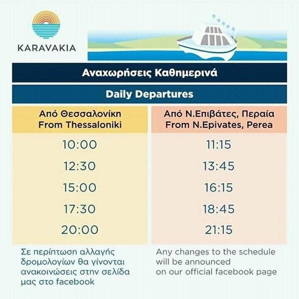 Θεσσαλονίκη - Επιστρέφουν τα καραβάκια του Θερμαϊκού προς τις κοντινές παραλίες