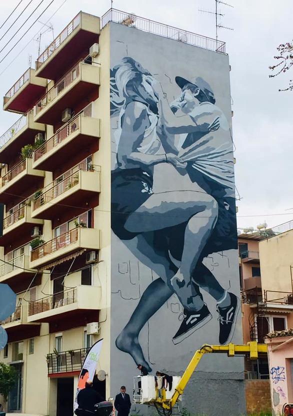 Η φωτογραφία είναι της Τατιάνας Δήμου