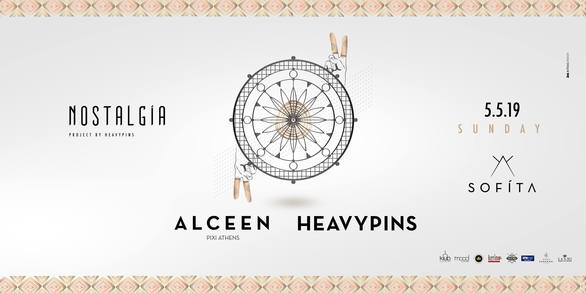 """Nostalgia #3 by Heavy Pins & Guest """"Alceen"""" at Sofita Bar"""