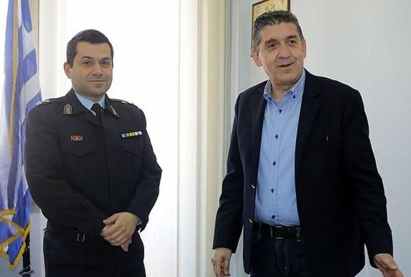 Πάτρα: Ο Γρηγόρης Αλεξόπουλος επισκέφθηκε τις Υπηρεσίες της Ελληνικής Αστυνομίας (φωτο)