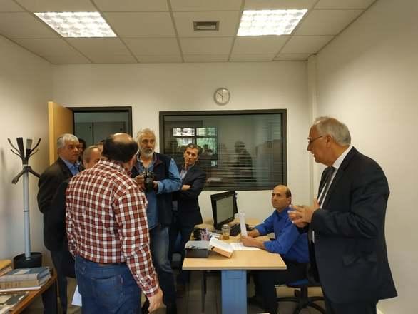 Καλάβρυτα - Ο Θανάσης Παπαδόπουλος κατέθεσε τη γραπτή δήλωση κατάρτισης του συνδυασμού του