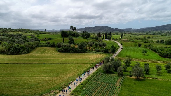 Ηλεία: O Δρόμος της Εκεχειρίας μία μοναδική γιορτή για την Ειρήνη (φωτο)