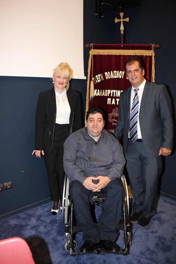 Βραβεύθηκε ο Αντ. Χαροκόπος για την προσφορά του σε θέματα υγείας και κοινωνικής αλληλεγγύης