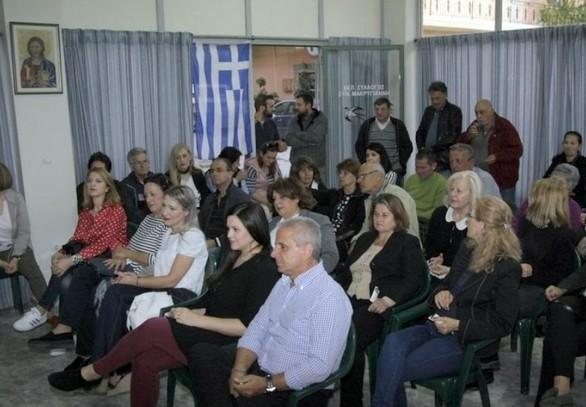 Πάτρα: Στου Μακρυγιάννη ο υποψήφιος δήμαρχος Πατρέων Γρηγόρης Αλεξόπουλος