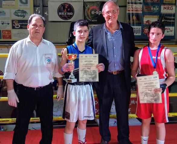 Σημαντικές εμπειρίες για τρεις boxerinos της Παναχαϊκής στην Σπάρτη (φωτο)