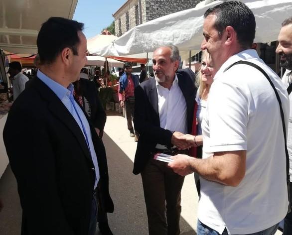O Απόστολος Κατσιφάρας πραγματοποίησε περιοδεία σε Λάππα, Νέα Μανωλάδα και Πηνεία (pics)