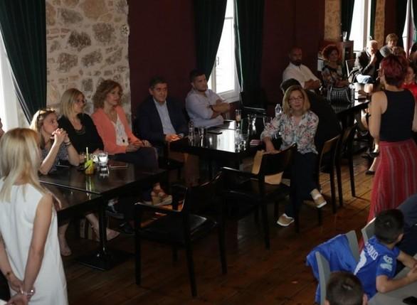 Συνεχίζονται οι επαφές του Γρηγόρη Αλεξόπουλου με πολίτες της Πάτρας