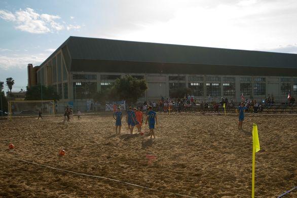 ΠΕΑΚ Πάτρας - Το αίτημα για τη δημιουργία ενός γηπέδου άμμου, έγινε πραγματικότητα (φωτο)